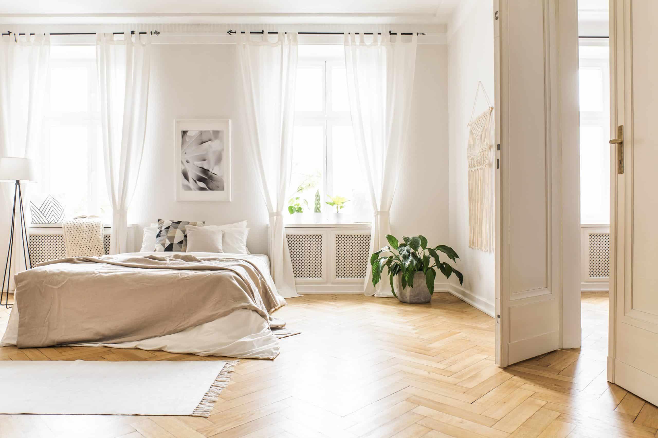 natural light in room